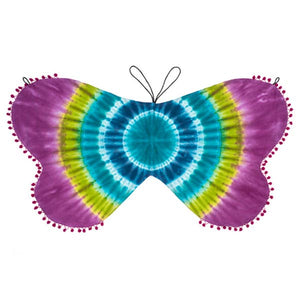 Shibori Butterfly Wings Cape