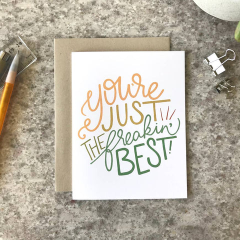 Just the Best - Greeting Card