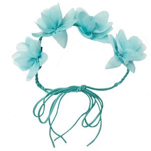 Headbands of Hope - Flower Crown Mint