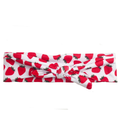 Headbands of Hope - Knotted Berry Berry