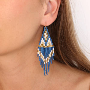 Azul Beaded Earrings