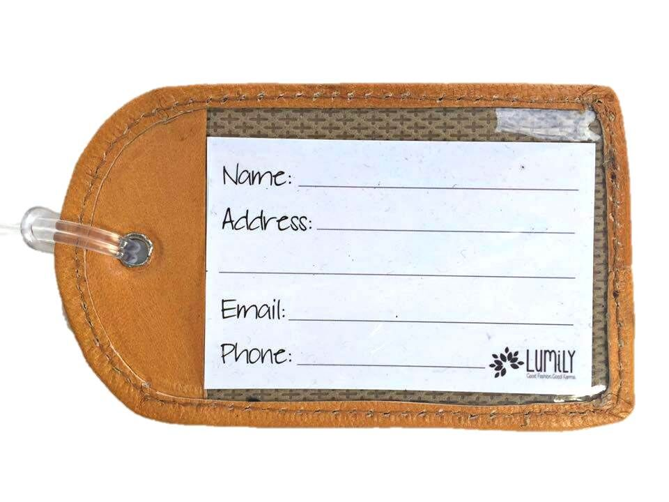 Lumily - Huipil Luggage Tag - Guatemala