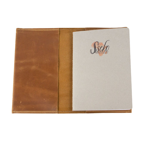 Journal Sleeve in Oiled Caramel