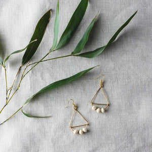 Angular Earrings