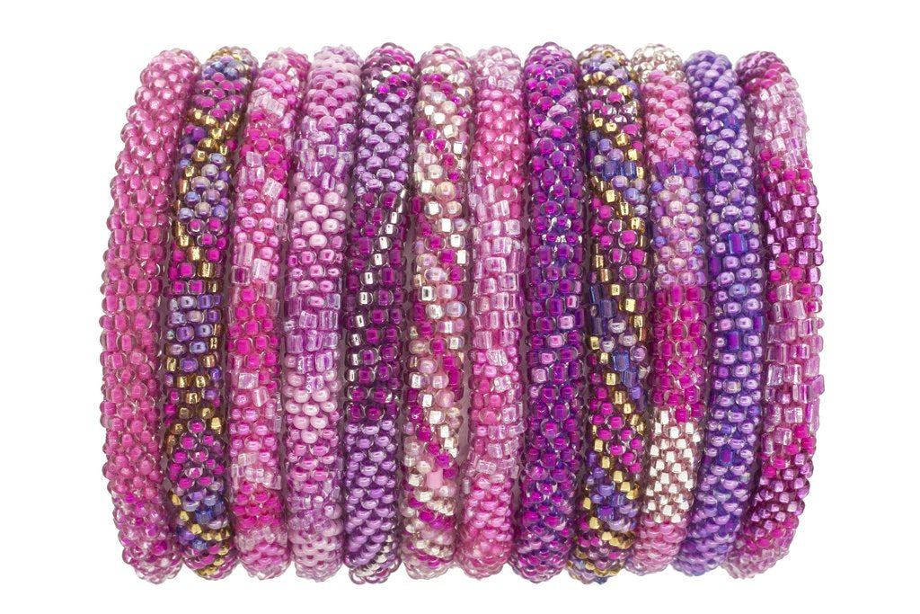 ROLL-ON® BRACELETS - FUCHSIA FUSION