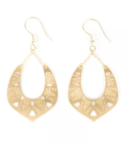 Granada Earrings - Gold