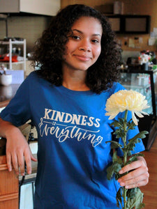 Kindness Tee in Blue