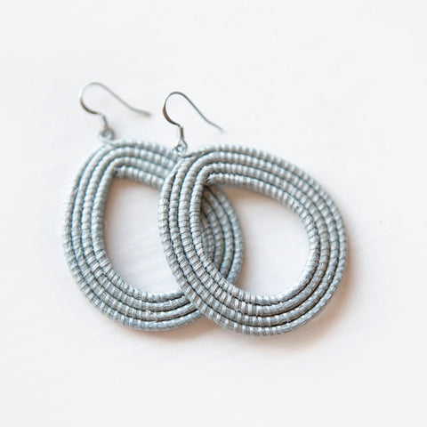 Woven Loop Earrings