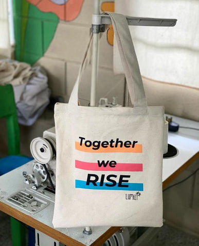TOGETHER WE RISE TOTE