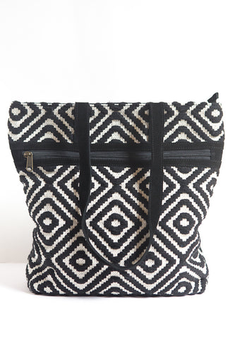Meander Cotton Purse