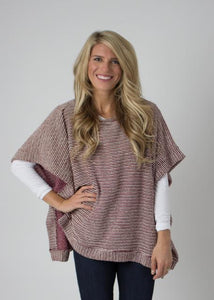 Plum Perfect Poncho