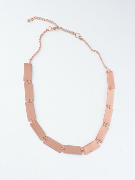 Pretty Pathways Necklace - Copper