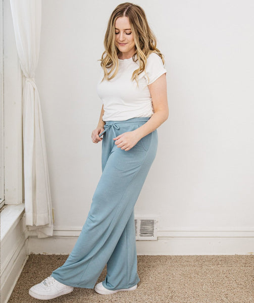 STROLL pants in Light Blue