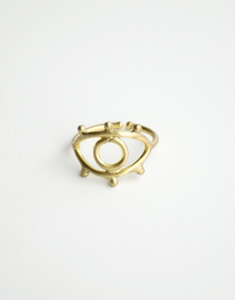 Eye to Eye Ring Gold