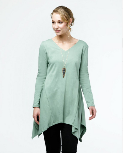 The PHOEBE tunic in Thyme