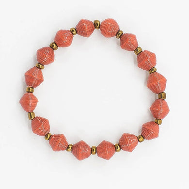 The Hoop Bracelet - Dusty Orange
