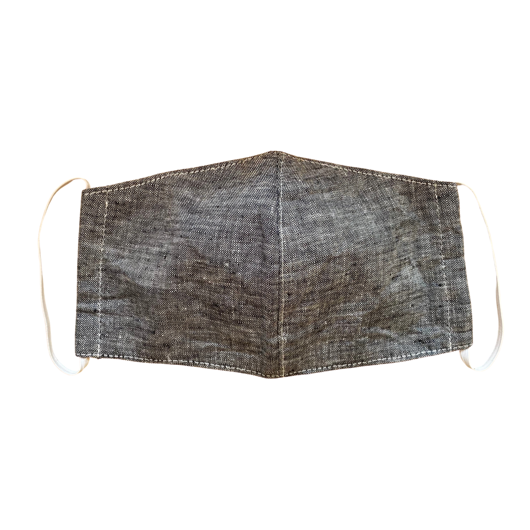 Linen Unisex Mask with Filter Pocket (Adult) - Thailand