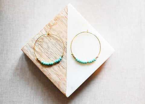 Morse Code Earrings | HOPE