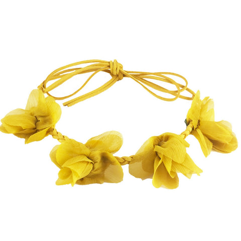Headbands of Hope - Flower Crown Yellow