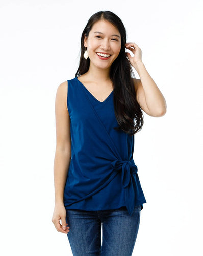 The LAYLA tank in Navy Peony