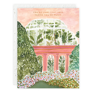 Seedlings - Palm House Card