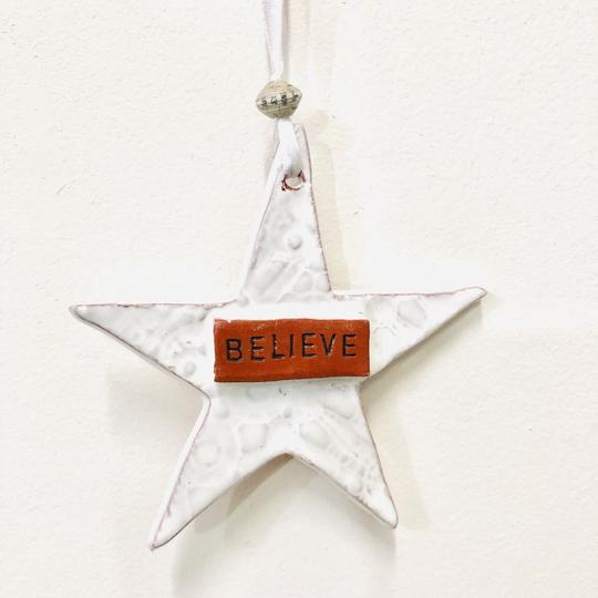 Ceramic Star Ornament