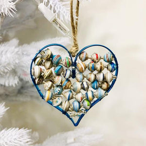 Paper Wire Heart Ornament