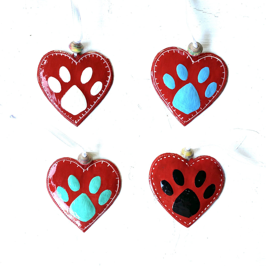 Puppy Heart Ornament