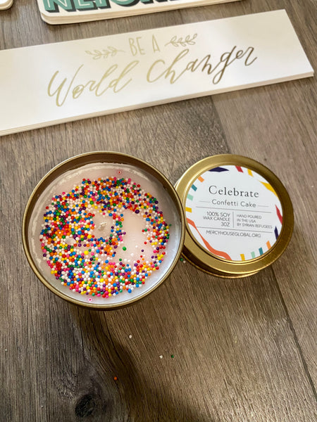 Celebrate | 3 oz. Candle Tins