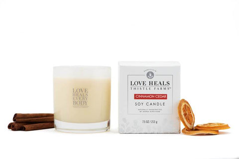 Thistle Farms Holiday Candles