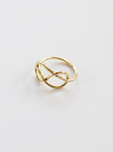 Top Knot Ring Gold