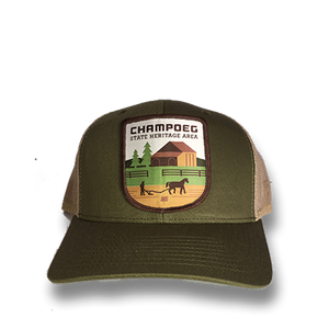 Champoeg State Heritage Area - Retro Trucker Snap Back Hat