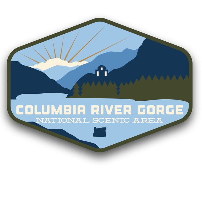 Columbia River Gorge Sticker