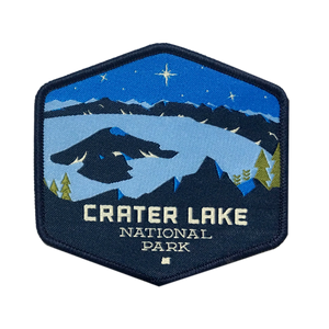 Crater Lake National Park, Iron-on Patch