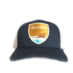 Fort Stevens State Park - Retro Trucker Snap Back Hat