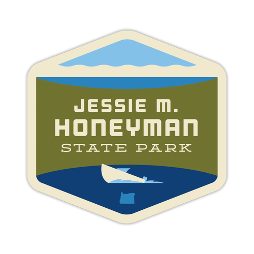 Jessie M. Honeyman State Park Sticker