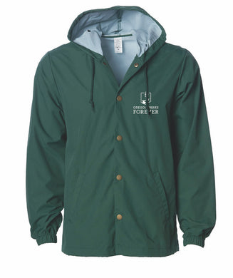 Oregon Parks Forever - Hooded Jacket