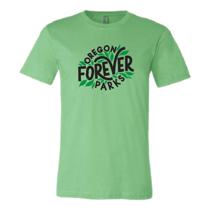 "Oregon Parks Forever ""Leaf"" T-shirt"