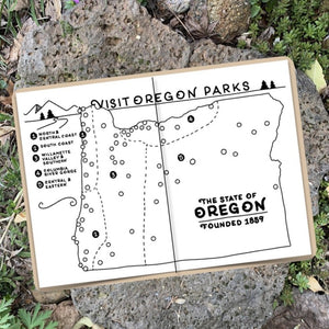 Oregon Parks Adventure Journal