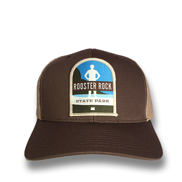 Rooster Rock State Park - Retro Trucker Snap Back Hat