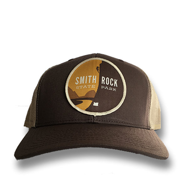 Smith Rock State Park - Retro Snap Back Trucker Hat