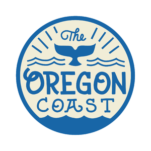 "The Oregon Coast - 3.5"" Round Sticker"