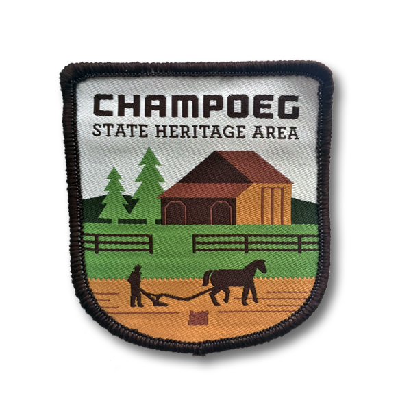 Champoeg State Heritage Area Patch