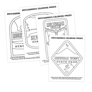 Oregon Parks Coloring Pages (Free Printable Download)