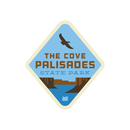 The Cove Palisades State Park Sticker