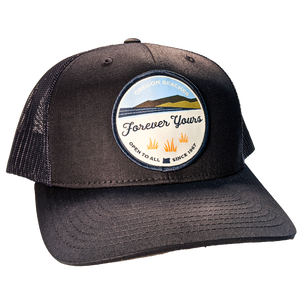 """Forever Yours"" - Retro Trucker Snap Back Hat"