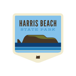 Harris Beach State Park Sticker