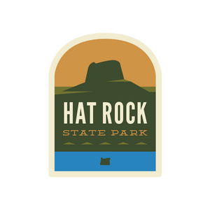 Hat Rock State Park Sticker