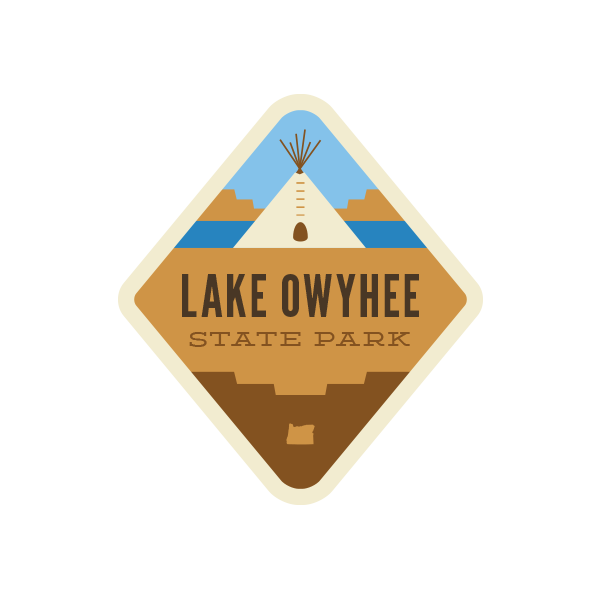 Lake Owyhee State Park Sticker