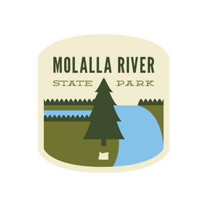 Molalla River State Park Sticker